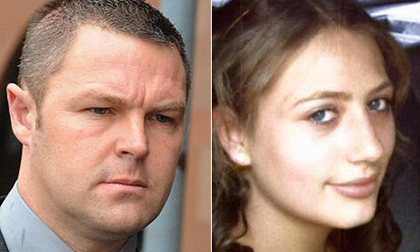 John Dougal and victim Hayley Adamson