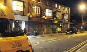 North-west England terror raids
