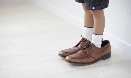 Boy Kids Feet Boy 39 s Feet in Adult Size Shoes