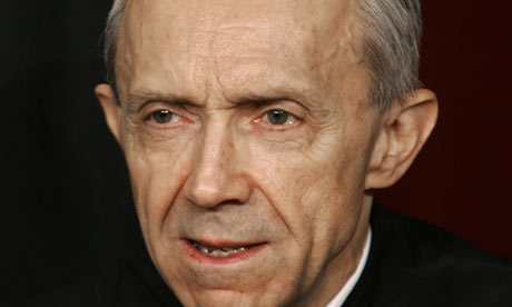 US supreme court justice David Souter. Photograph: Paul J Richards/AFP/Getty