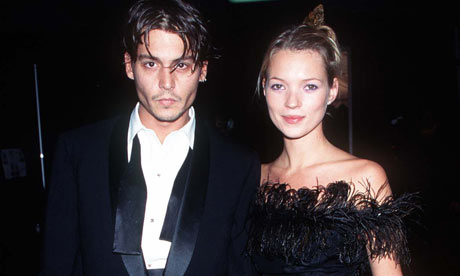kate moss johnny depp photoshoot. Johnny Depp and Kate Moss at