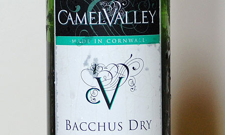 Camel Valley bacchus dry wine