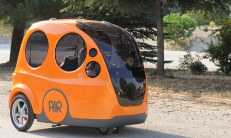 Airpod City Car