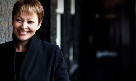 Caroline Lucas, leader of the Green Party