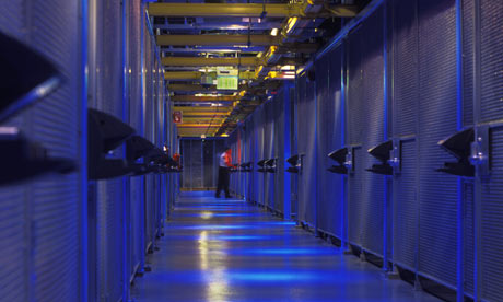 Server farm in San Jose, California