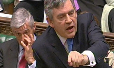 gordon brown during prime minister's questions
