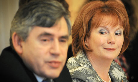 Gordon Brown and communities secretary Hazel Blears