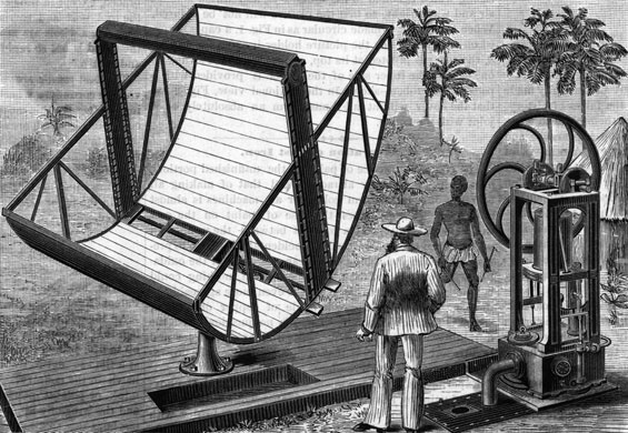 Green technologies: John Ericsson'S Solar Engine;Illust.