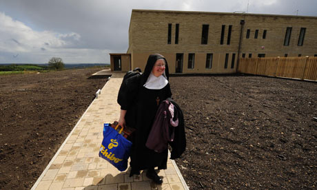 Nuns move from Stanbrook Abbey into new eco-convent near Helmsley
