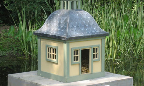 The ornamental duck house which Sir Peter Viggers claimed £1,645 for.