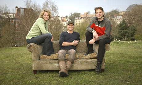 Kate Humble, Simon King and Chris Packham in Springwatch.