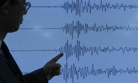Shock waves caused by North Korea's nuclear weapons