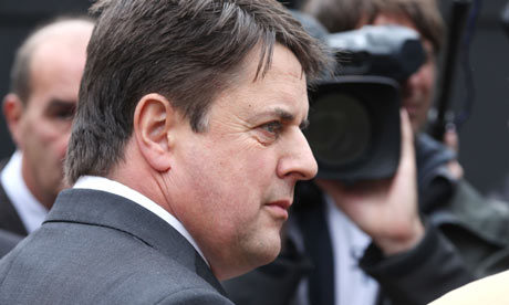 Nick Griffin, the leader of the BNP