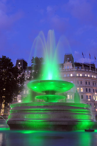 Trafalgar East Australia  city photo : New fountain lights in Trafalgar Square | UK news | The Guardian