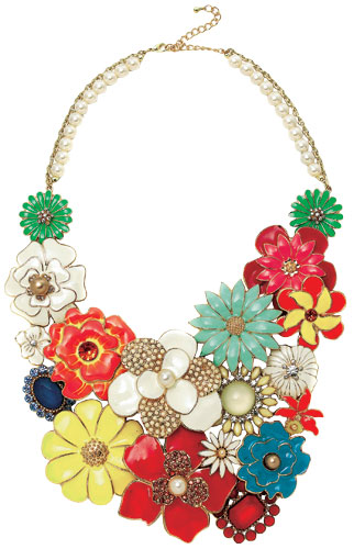 Fashion wishlist: florals: Necklace