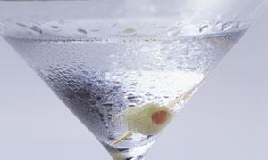 Chilled martini