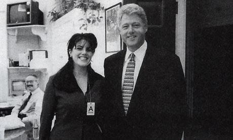 Clinton and Monica