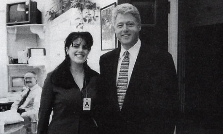 Clinton and Monica 