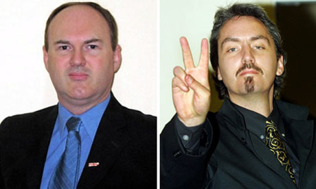 BNP members, Barry Bennett and Lee Barnes
