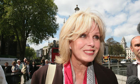 Joanna Lumley arrives at the Houses of Parliament to discuss Gurkhas' rights with Gordon Brown.