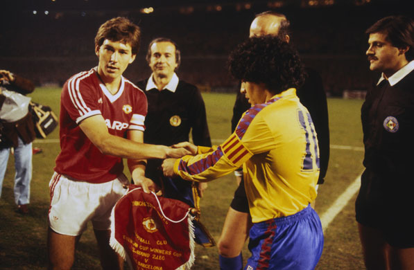 Image result for Bryan Robson: the legendary Captain Marvel