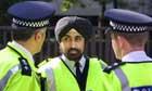 A Sikh Metropolitan Police officer