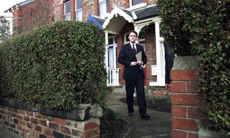 Lord Mandelson at Hartlepool home
