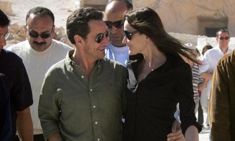 nicolas sarkozy carla bruni. Nicolas Sarkozy and Carla