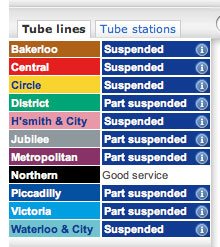tube-strike