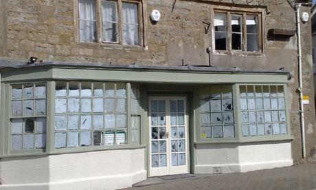 ... inside? C'mon Mat, show us some more pics! Photograph: Mat Follas