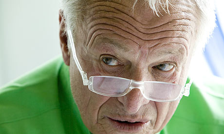 Architect Sir Richard Rogers of Rogers Stirk Harbour and Partners at his office in Fulham
