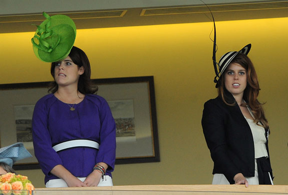 Royal Ascot: Princess Eugenie and Princess Beatrice