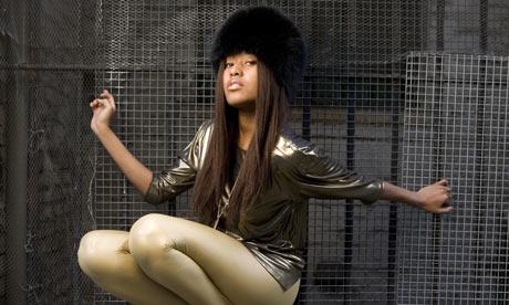 Singer VV Brown photographed in Shepherds Bush, West London