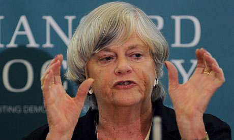 Conservative MP Ann Widdecombe