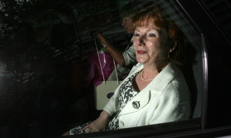 Hazel Blears leaves her London office