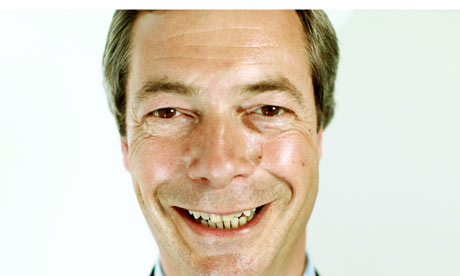 Nigel Farage MEP, leader of Ukip