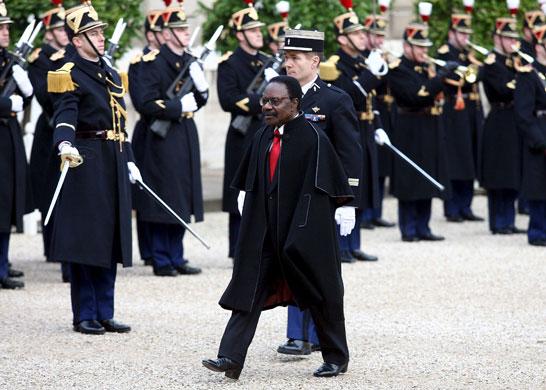 Omar Bongo obituary: President Omar Bongo Paris 2006