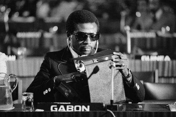 Omar Bongo obituary: President Omar Bongo 1975