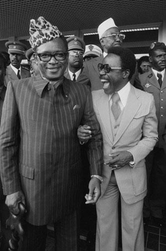 Omar Bongo obituary: Mobutu Sese Seko and Omar Bongo 1979