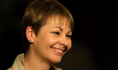 Green Party MEP Caroline Lucas