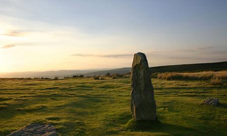 Priest Weston Shropshire powys stone circle walk