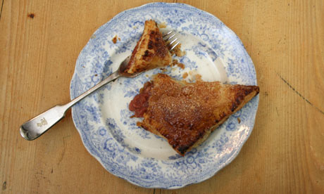 Rhubarb and apple turnover for G2 weekly recipe