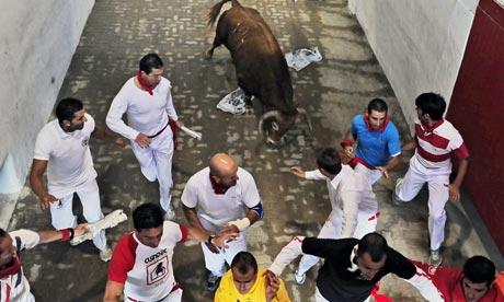 Spanish Bull Run Deaths Death in Spanish Bull Run