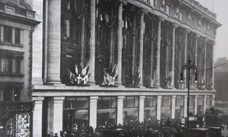 The opening of Selfridges department store on 15 March 1909.