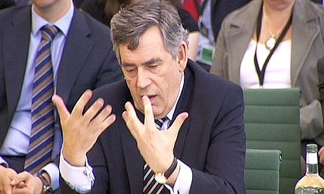 Gordon Brown at Commons Liaison Committee