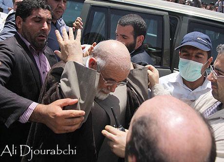 Karoubi-attacked