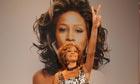 Whitney Houston makes a