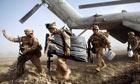 US marines in Main Poshteh, Afghanistan