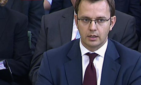 Andy Coulson giving evidence to House of Commons commitee