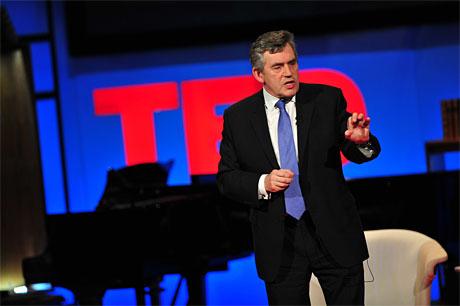 Prime Minister Gordon Brown at TEDGlobal